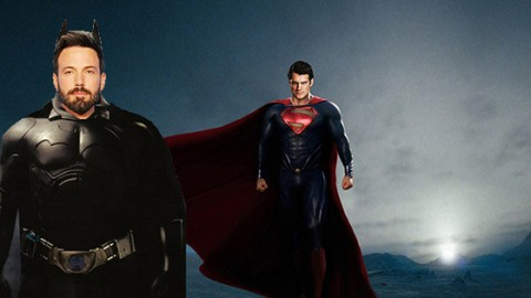 Ben Affleck to Play Batman in Man of Steel Sequel