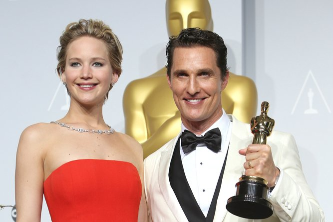 Matthew McConaughey Jennifer Lawrence