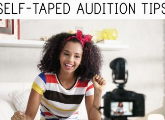 Self-taped audition