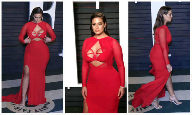 BEVERLY HILLS - FEB 28: Ashley Graham at the 2016 Vanity Fair Oscar Party on February 28, 2016 in Beverly Hills, California (Joe Seer / Shutterstock.com)