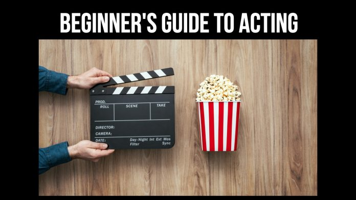 Beginner's Guide to Acting (cover)