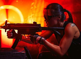 Gun weapon fire arm action movie jobs