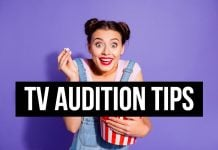 TV audition tips
